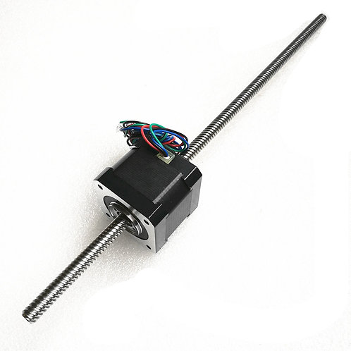 Non-captive Nema14 Linear Stepper with 400mm Tr556 lead screw