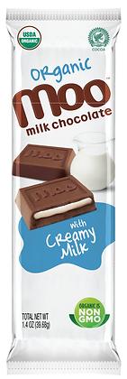 Organic Creamy Milk & Milk Chocolate Bars 2-Pack, Box/14