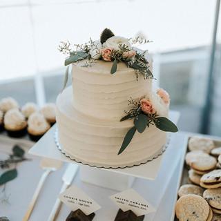 Stripe Cake