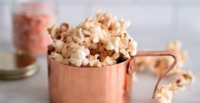 Pink Himalayan Sea Salt White Chocolate Popcorn
