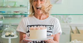 Dessert'D Organic Bake Shop Franchises & Strawberry Almond Cake