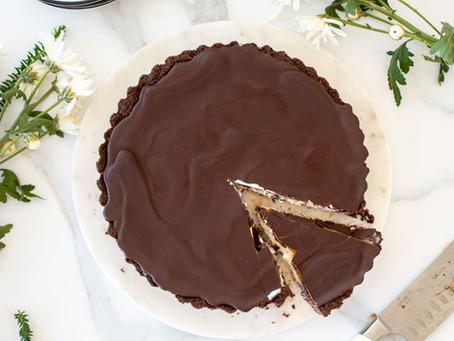 Chocolate Peanut Butter Ice Cream Tart