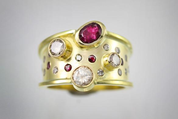 Custom Galaxy Ring