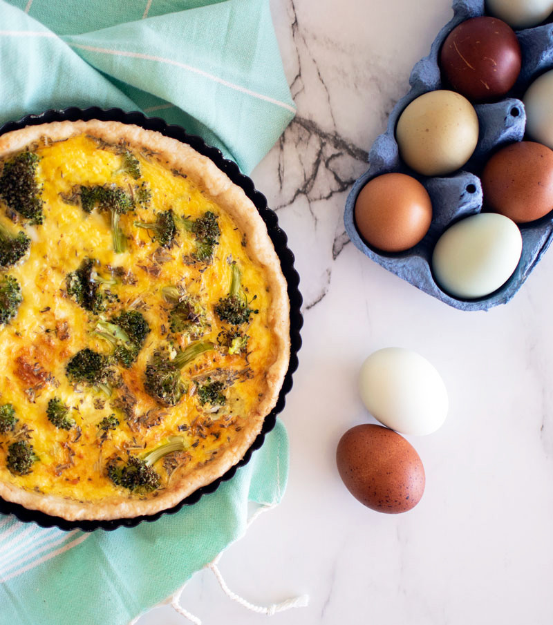 Easy quiche recipe, mother's day quiche recipe, mother's day recipe, broccoli cheddar quiche recipe, breakfast quiche recipe, breakfast recipe, brunch recipe, brunch quiche #brunch #breakfast #quiche #organic #organicbreakfast #organicquiche #easyrecipe