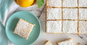 Mom in the Mountains | Meyer Lemon Bars