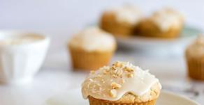 Honey Glazed Cardamom Muffins