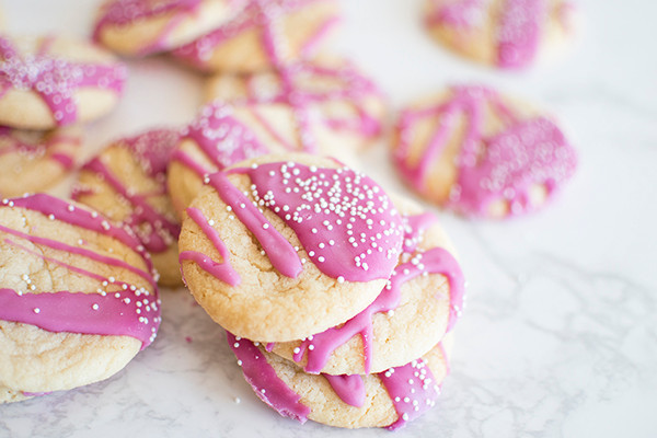 Circus Shortbread Cookies on the floor