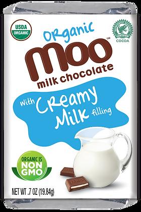 Organic Creamy Milk & Milk Chocolate Mini Bars, Box/14