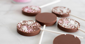Milk Chocolate Valentine's Day Lollipops