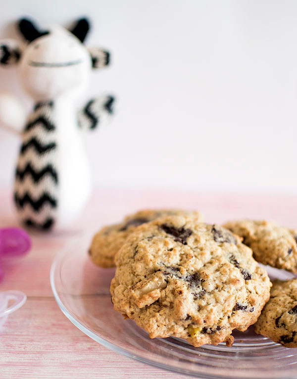 plate full of Lactation Cookies