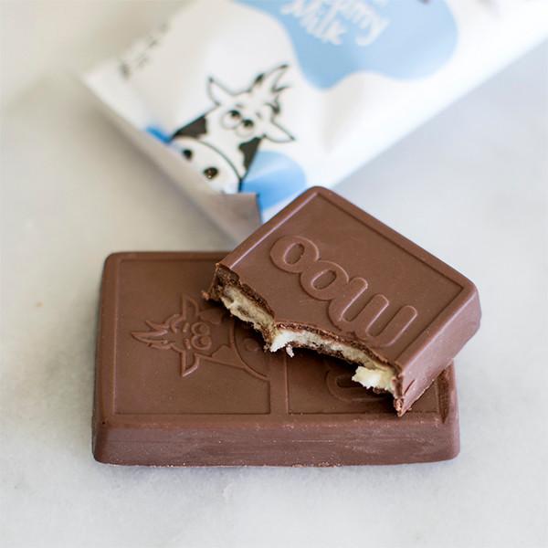 Bited moo chocolate bar
