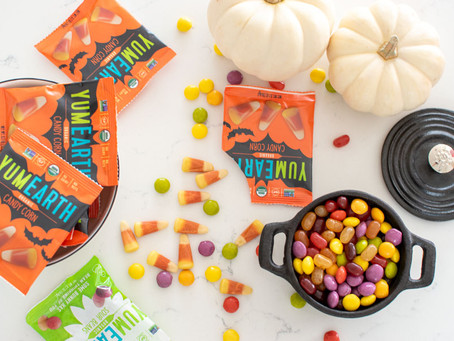 Healthy Halloween Candy Round Up