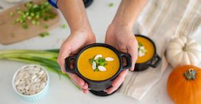 Creamy Spiced Pumpkin Soup