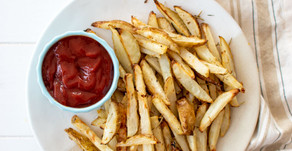 Lemon Rosemary French Fries