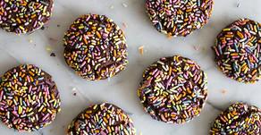 Sprinkled Chocolate Sugar Cookies
