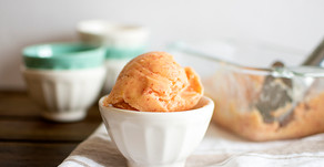 Mom in the Mountains   Peach Sorbet