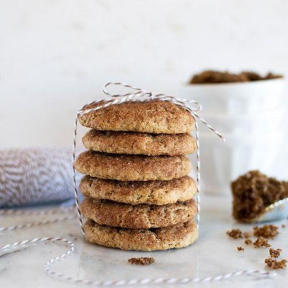 Tower of Vegan Gluten Free Brown Sugar Snickerdoodles