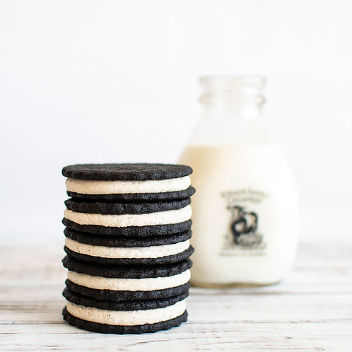 Tower of Gluten Free Nostalgic Sandwich Cookies