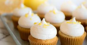 Vanilla Cardamom Grapefruit Cupcakes