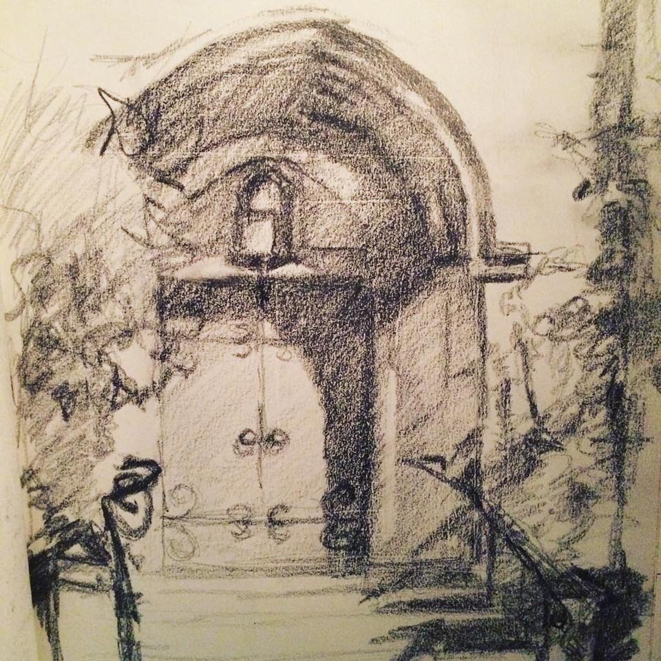 Pasadena Church Door