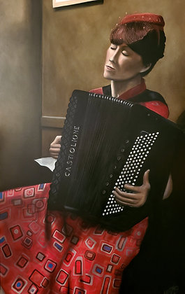 And Heather on the Accordion