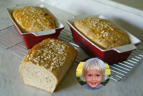 Dani's Oatmeal Bread
