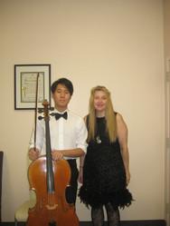 Cellist Albert Kim, Pianist Tamara Casho