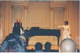 JACKIE GEORGE, Soprano AND TAMARA- WEILL