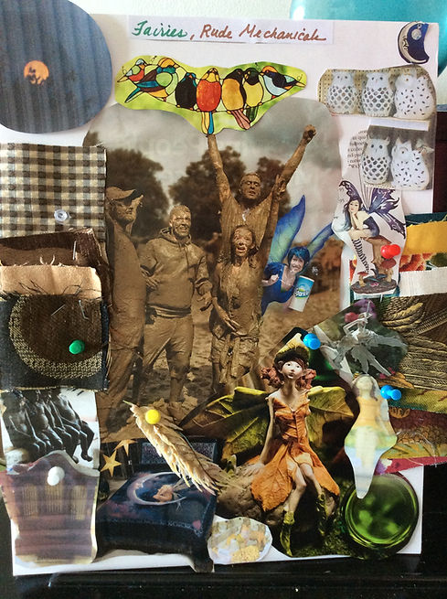 TCASHOUR-Mood Board Fairies & Rude Mecha