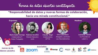 Los datos en una nueva Constitución: Un elemento para reconciliar el mundo digital con las personas