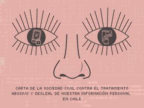 Contra el tratamiento abusivo y desleal de nuestra información personal: