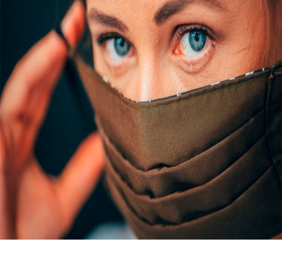 Your Face Mask May Carry COVID-19 on the Inside. Here's the Quick Fix