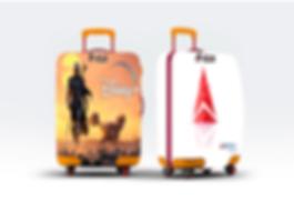 Star Guides - Luggage Cover - Delta + di