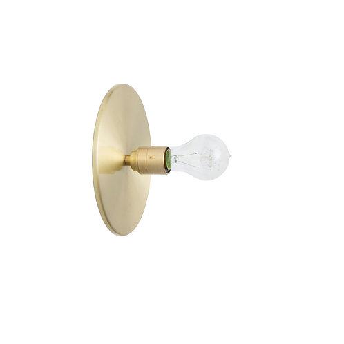 Edison Disc Wall Light