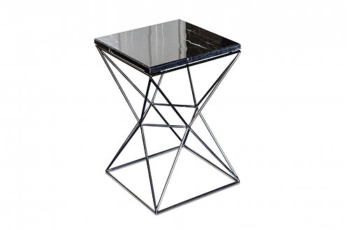 Jules Black Side Table