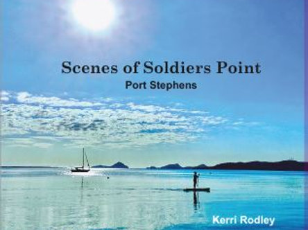 Scene of Soldiers Point picture book