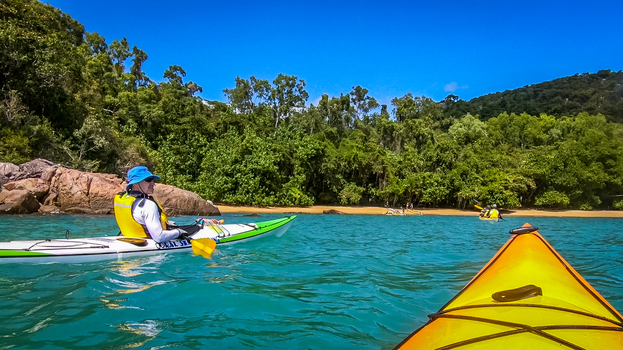 sea kayaking australia