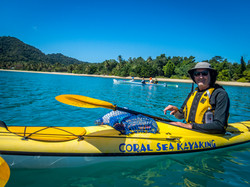 coral sea kayaking