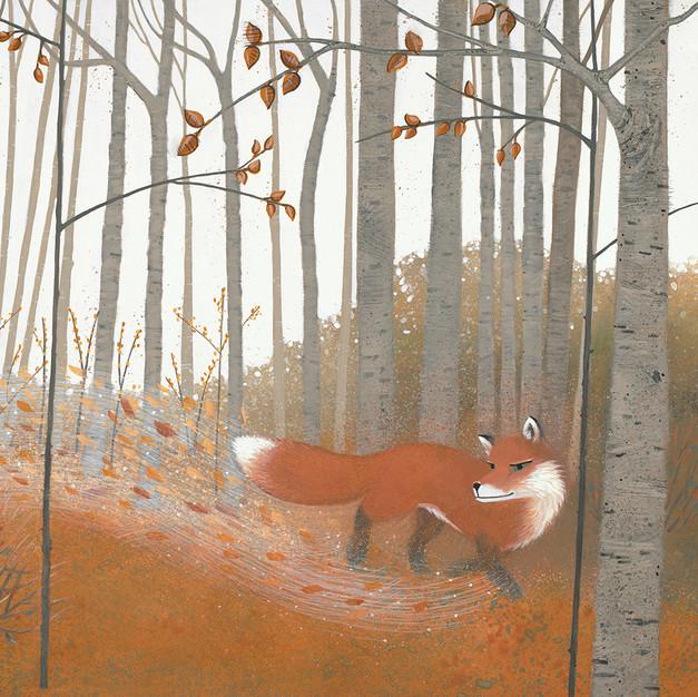 Fox in Trees