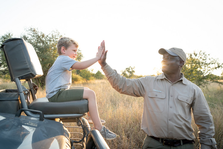 Game Drive with Family