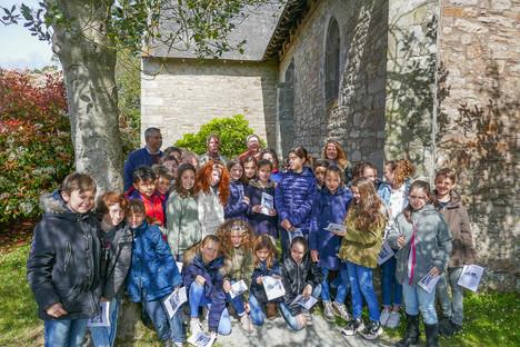 Visite de la chapelle N.D. de Bon Garant