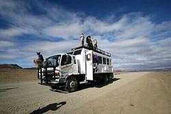 트럭여행 버스