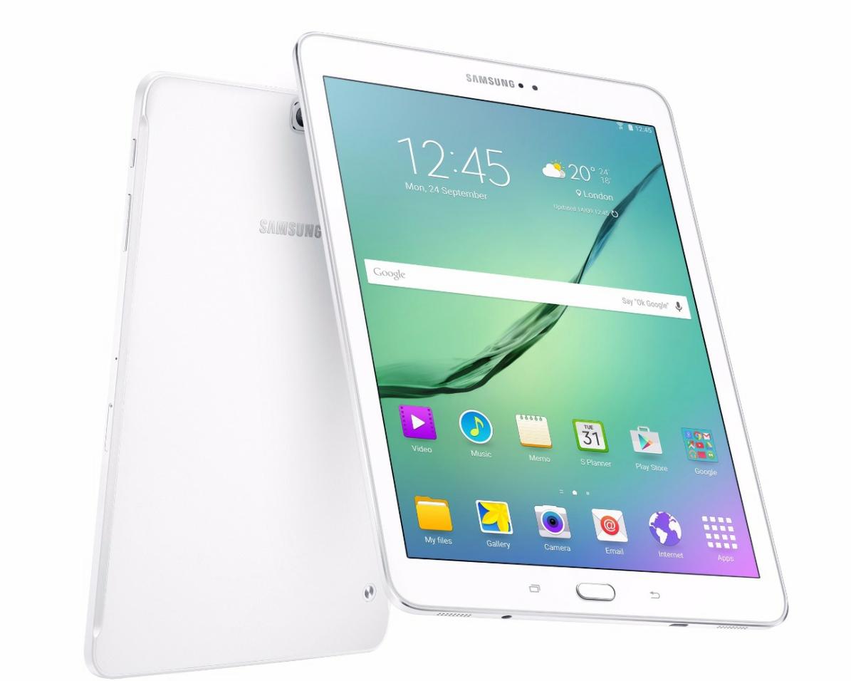 "Samsung Tab S 2 White 9.7"""