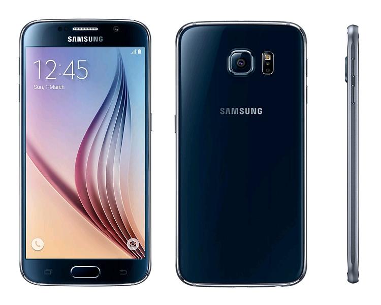 Samsung S6 Black Sapphire