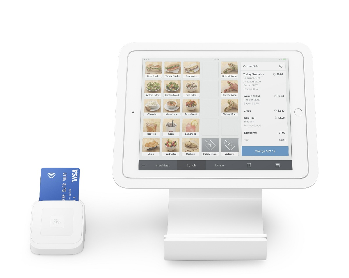 Square Pay Point Stand