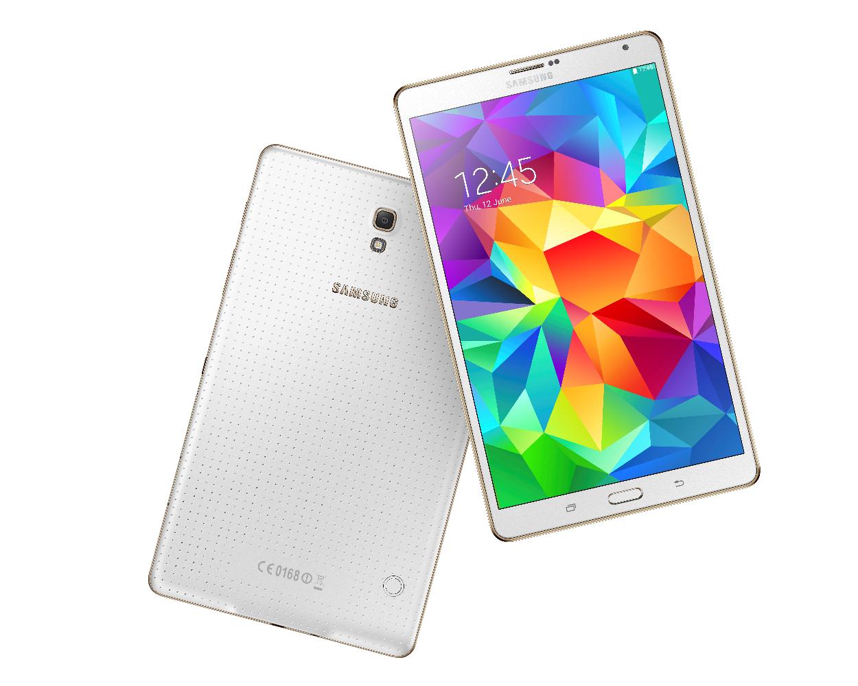 "Samsung Tab 4 8"" White"