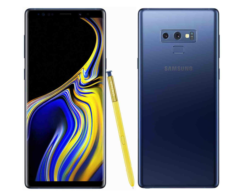Samsung Note 9 Blue
