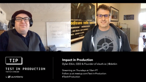 Impact in Production - Sleuth and LaunchDarkly