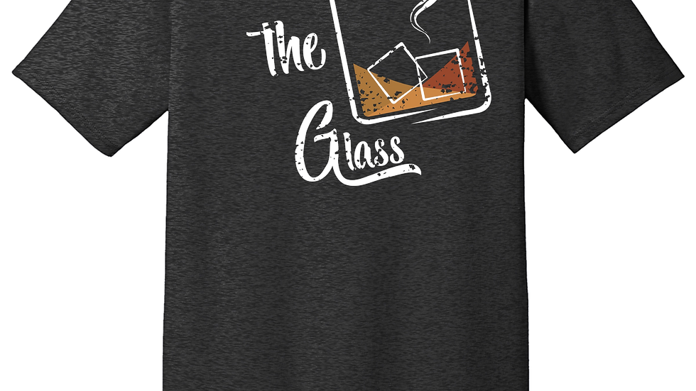 """Smoke the Glass"" Charcoal T-Shirt"