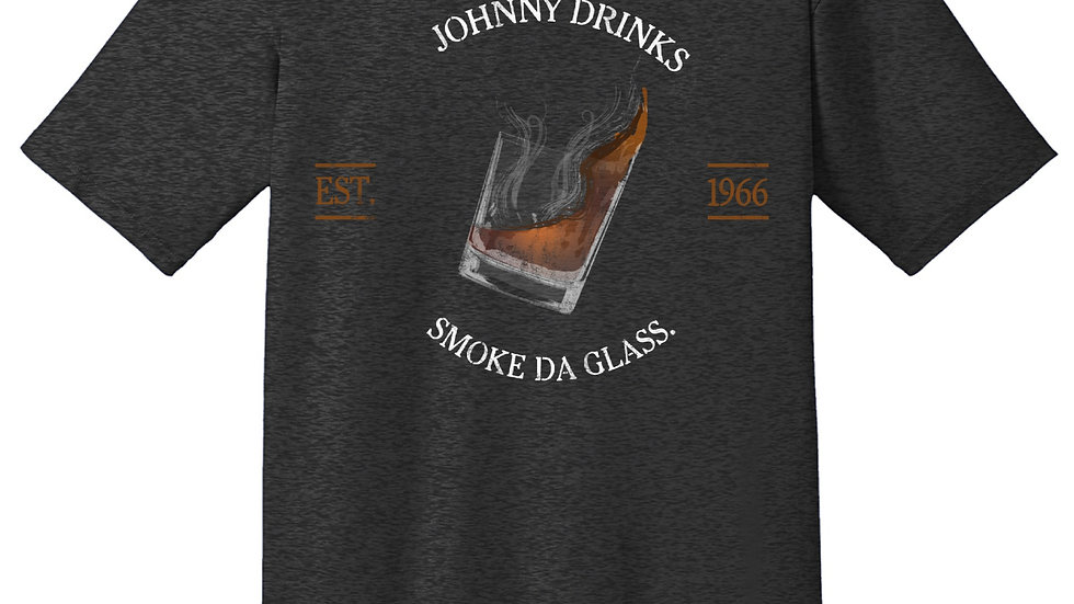 "Johnny Drink's ""Smoke da Glass"" T-Shirt"